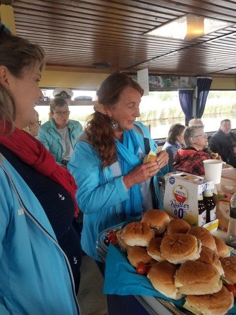 Lunch verzorgd door Boni Hoogland