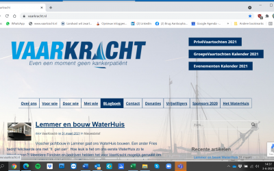 Huizen, Nieuwe Website VaarKracht
